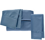 Serta SuperSoft Microfiber TXL Sheet Set with Nanotex and Extra Case - H208836