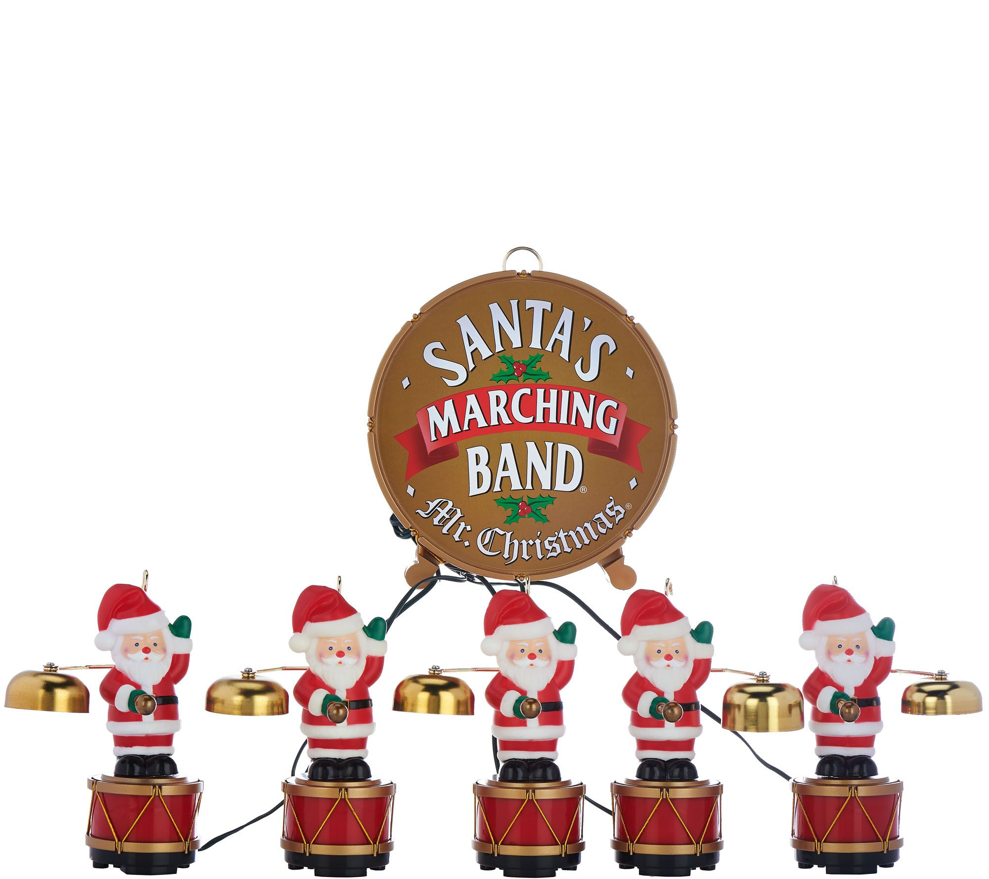 Mr. Christmas 25th Anniversary Santa's Marching Band - Page 1 ...