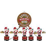 Mr. Christmas 25th Anniversary Santas Marching Band - H208936