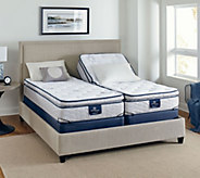 Serta Perfect Sleeper Bravo Pillowtop SK Mattress w/ Adjustable Base - H209136