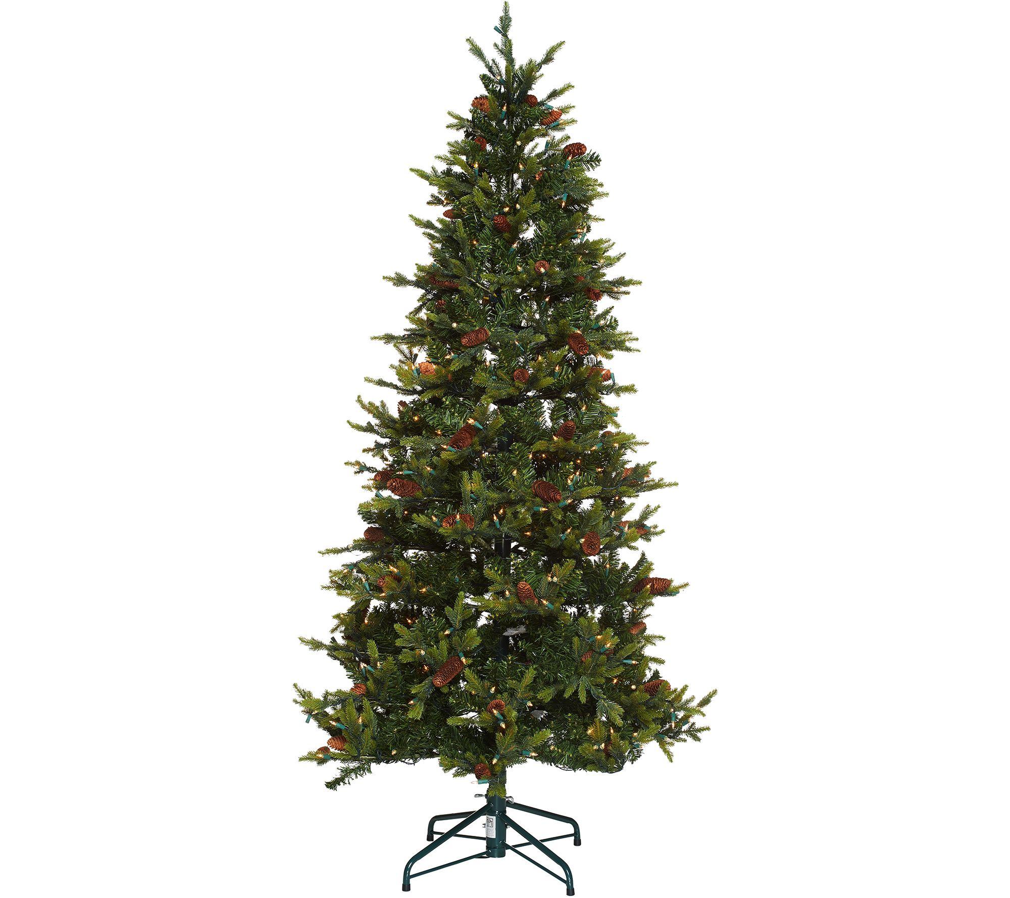 """""""As Is"""" Bethlehem Lights 6.5' Heritage Spruce Christmas"""