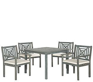 Safavieh Del Mar 5 Piece Outdoor Dining Set