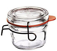 Luigi Bormioli Lock-Eat 4.25-oz Food Jars, Setof 6 - H291236