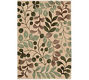 Handtufted 36 x 56 Graphic Leaves Rug by Valerie - H350036