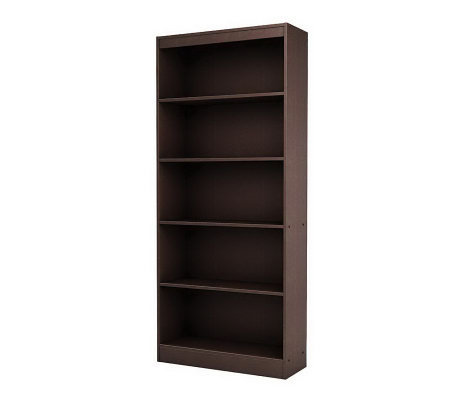 south shore axess 5 shelf bookcase. Black Bedroom Furniture Sets. Home Design Ideas