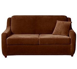 Sure Fit Strech Pearson 3 Piece Queen Sleeper Sofa