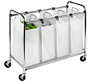 Honey-Can-Do Heavy-Duty Quad Chrome-Plated Sorter - H367436