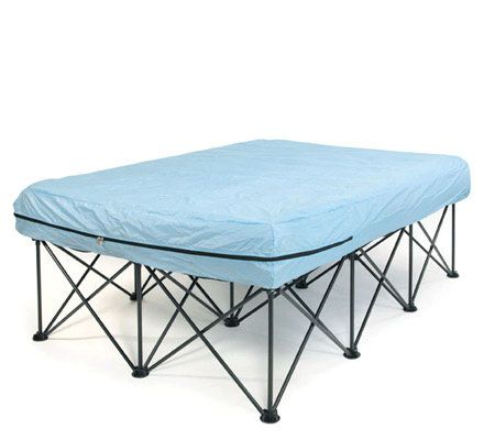 Queen Portable Bed Frame For Air Filled Mattresses With
