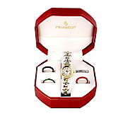 Peugeot Womens Five Interchangeable Bezels Watch Gift Set - H157537