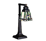 Tiffany-Style Prairie Wheat Desk Lamp - H159737