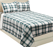 ED On Air Cotton Berber Reversible FL/Q Quilt Set by Ellen DeGeneres - H204037
