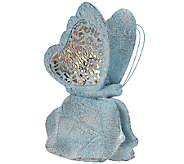 Illuminated Pierced Garden Friend Luminary with Timer by Valerie - H205037