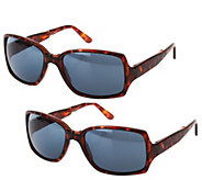 Set of 2 Foldable Neox Sunglasses by Lori Greiner - H208437