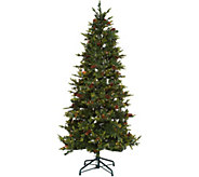 As Is Bethlehem Lights 7.5 Heritage Spruce Christmas Tree - H210837