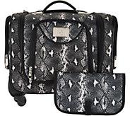 Weekender Bag with Snap In Toiletry Bag by Lori Greiner - H211037