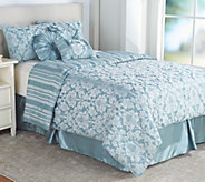 Northern Nights Jacquard Reversible 7 Piece Queen Comforter Set - H211337