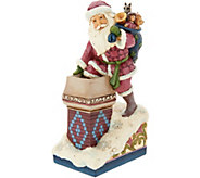 Jim Shore Heartwood Creek Victorian Collection Santa Figurine - H211937