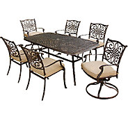 Hanover Traditions 7-Piece Outdoor Dining Set - H283937