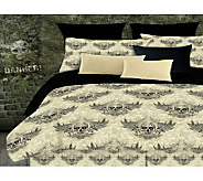 Veratex Winged Skull Queen Comforter Set - H351537