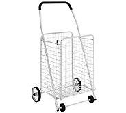 Whitmor Rolling Utility Cart White - H367737