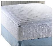 Croscill 300TC Sateen Stripe King Mattress Pad - H142838