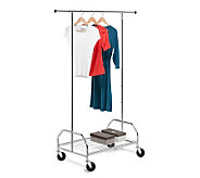 Honey-Can-Do Bottom-Shelf Garment Rack - H184038