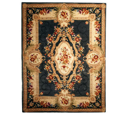 Royal Palace 7 X 9 Heritage Medallion Handmade Rug