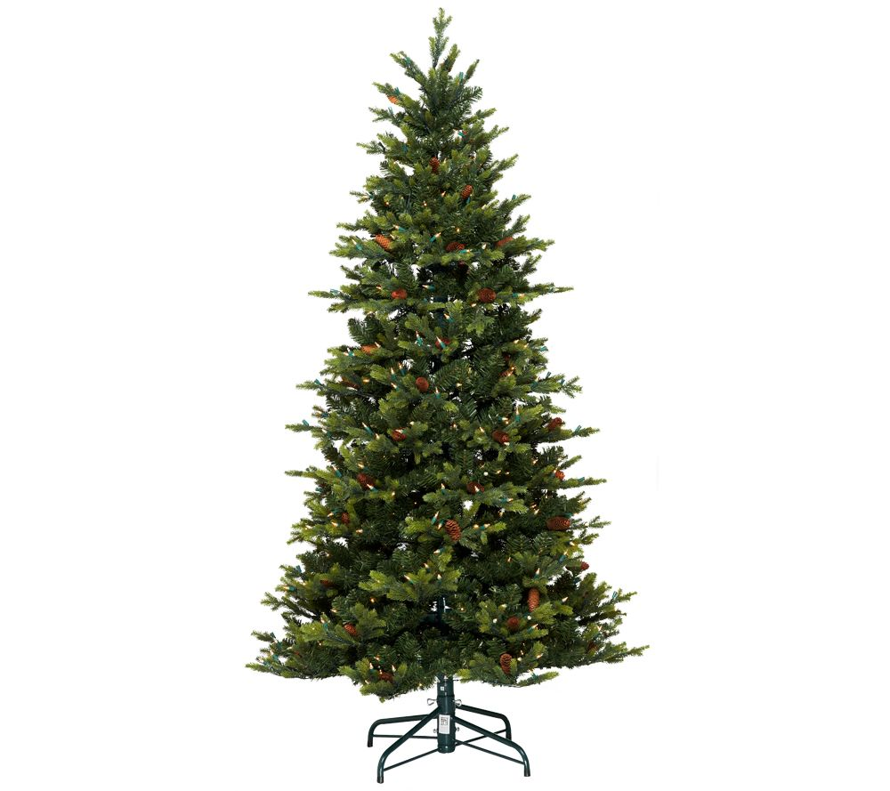 Bethlehem Lights 9' Noble Spruce Christmas Tree W/Instant