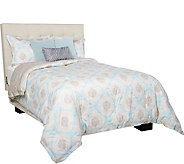 Scott Living Devon 6 Piece Reversible Queen Comforter Set - H212138