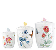 Lenox Butterfly Meadow Set of 3 Canisters - H286138