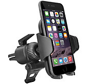 Fully Adjustable Car Vent Mount for iPhone, Android & GPS - H290838