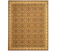 Treasures Bordered Persian Power-Loomed  89 x12 Rug - H361838