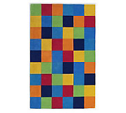 Royal Palace 2 x 3 Building Blocks Wool Handmade Rug - H139739