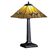 Tiffany-Style Martini Mission Table Lamp - H159739