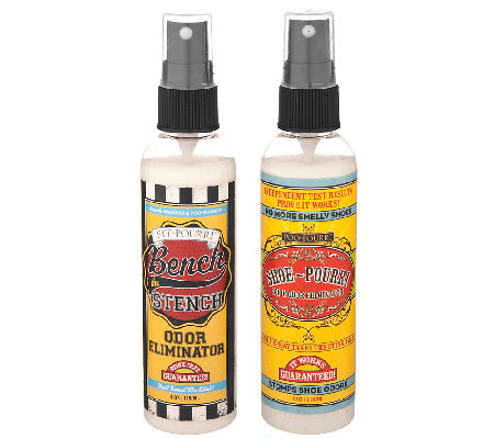 Bench The Stench Shoe Pourri Deodorizer Set From Poo Pourri H202839