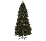 Temp-tations Frosted Spruce Tree w/ Convertible Sizing
