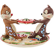 Jim Shore Disney Traditions Chip & Dale Cookie Plate - H205739