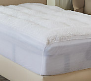 Florentine Quilted Queen Fiber Filled Mattress Topper - H206239