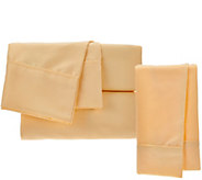 Serta SuperSoft Microfiber Sheet Set with Nanotex and Extra Cases - H208839