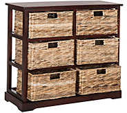 Safavieh Keenan 6 Wicker Basket Storage Chest - H209739