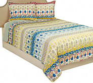 Spring Floral 100Cotton Full/Queen Quilt - H210739