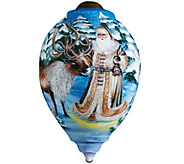 Santas Deer Friend Ornament by NeQwa - H289139