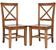 Construction Casual Dining Chairs Natural Finish - H349039