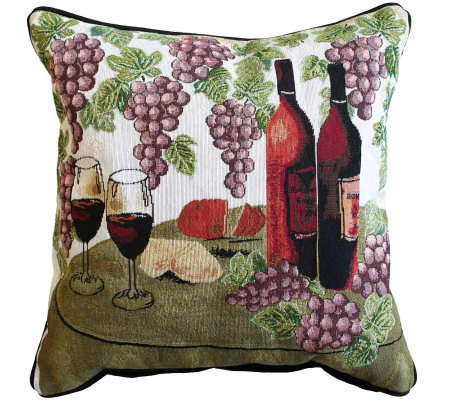 Qvc Decorative Pillows : Wine Table 18