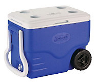 Coleman 40-Quart Wheeled Cooler - H353239