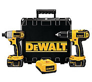 DeWalt 18V Compact Drill/Impact Driver Combo Kit - H364739