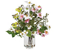 Dogwood Flower Arrangement by Nearly Natural - H179240
