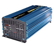 12 Volt DC to AC 3500 Watt Power Inverter - H182740