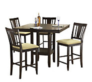 Hillsdale Furniture Arcadia 5 Piece Counter-Height Dining Set - H183740