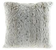 Dennis Basso Faux Fur 16 x 16 Pillow - H199440